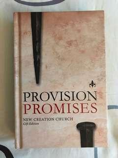 New Creation Church : Provision Promises  (Gift Edition)