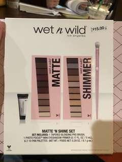 Wet N Wild Matte 'N Shine Set
