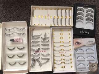 33 pair lash bulk
