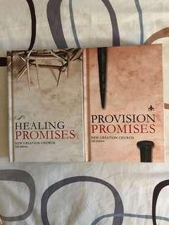 Healing & Provision Promises : 2 books by New Creation Church