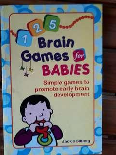 Brain games for babies book
