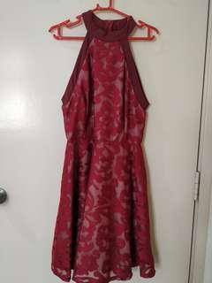 Halter Neck Short Dress