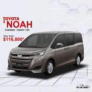 Toyota Noah Hybrid 1.8 G 7-Seater (A)