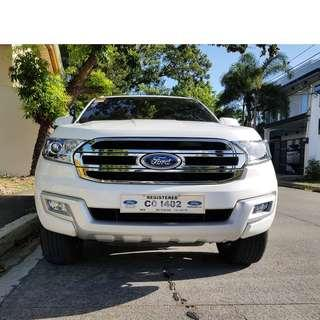 Ford Everest 2017 Trend Automatic 8T KM Complete Casa Records / Comprehensive Insurance