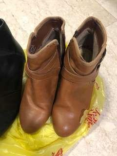 Hush Puppies Leather Boots
