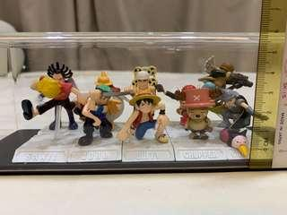 One piece figures set for sale