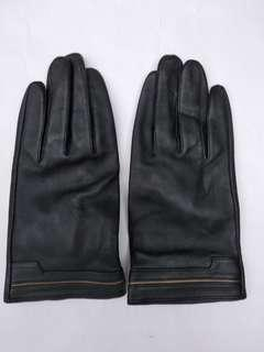 女裝皮手套 size=S 细碼 95%New