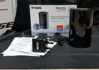 D-link AC1200 Dual Band Gigabit Cloud Router