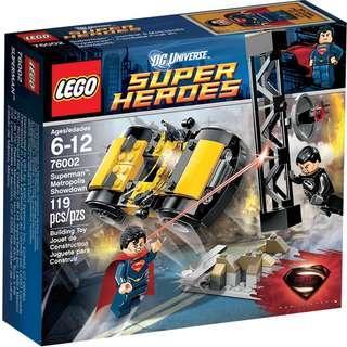 Lego DC Superman Metropolis Showdown 76002