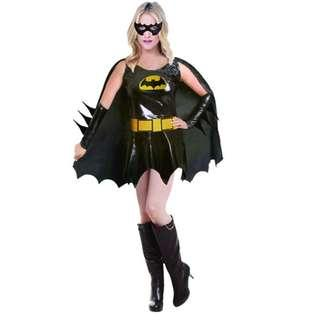 🚚 New Arrival Bat Girl Costume*Super Hero Costume  for Annual Dinner, Company Dinner