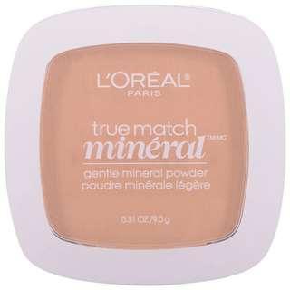 L'Oréal True Match Mineral Powder in W3 Nude Beige