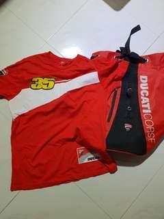 Ducati Course bundle deal draw string bag & tee