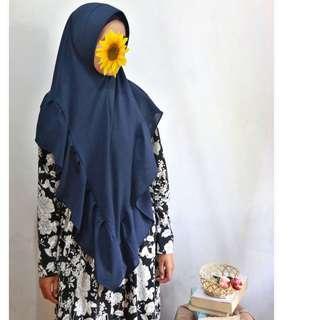 Jilbab rempel pet antem
