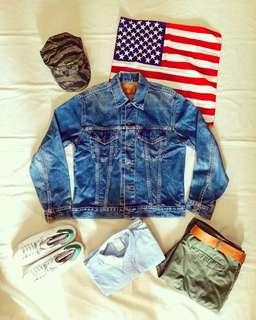 🇺🇸美國製Vintage 90s Levi's 70505 Cowboy Denim Jacket