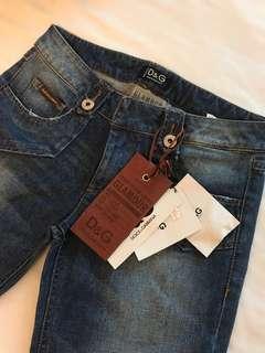 D&G 牛仔褲👖