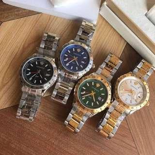 ad3db389c6e8 Versace Watch Hellenyium GMT Series