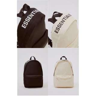 Fear Of God X Pacsun Essentials Bagpack
