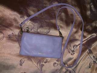 Oroton Lilac Leather Purse