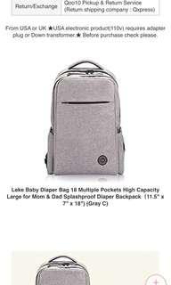 Leke Diaper Bag
