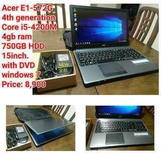 Acer E1-572G 4th generation Core i5-4200M