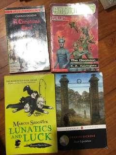 Books x4