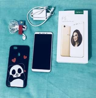OPPO F5 64gb ( with box and complete accessories)