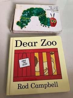 """Clearance book """"Dear Zoo"""". FREE The Very Hungry Caterpillar"""