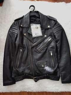 NEW Blk Dnm Leather Jacket