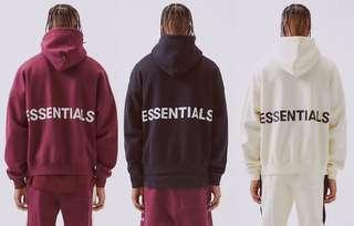 Fear Of God X Pacsun Essentials Hoodie