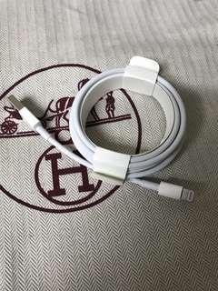 100% Apple Orignial iPhone / iPad Lightning Cable 2m 原裝蘋果充電線 2米