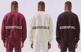 Fear Of God X Pacsun Essentials Sweatshirt