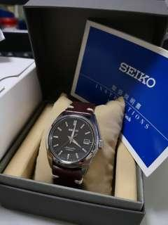 Seiko Watch Sarb 033 J with leather strap