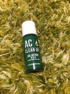 (包平郵)Etude House AC clean up gel lotion (sample size)