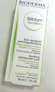Bioderma sebium sensitive soothing anti-blemish care