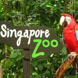 🚚 Zoo + night safari combo(Singapore Zoo E-Tickets) 1