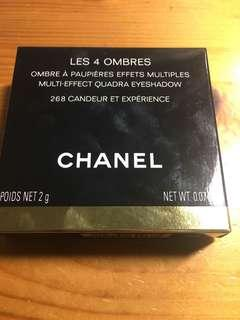 🚚 Chanel四色霧面眼影 色號268