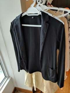 Uniqlo black jacket