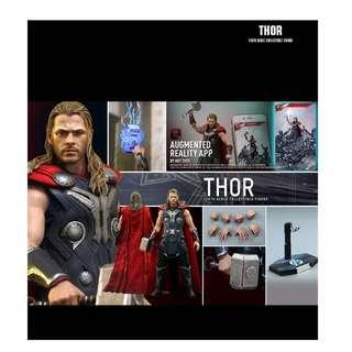 BIB HOT TOYS THOR AOU with rooted hair
