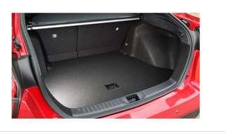 Boot tray for Toyota prius