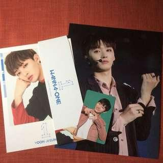 Wanna one Jisung Official Merchandise Photocard