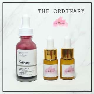 The Ordinary AHA 30% + BHA 2% Peeling Solution