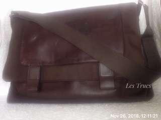 Braun Buffel messenger bag tas selempang