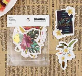 Craft Stickers - Vacation and Cactus