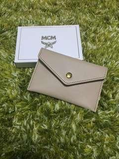 MCM Leather Card Holder 真皮卡套 (Beige 米色)