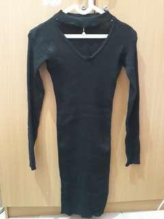 Dress Rajut Black 💯✔️