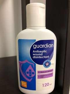 Antiseptic wound disinfectant