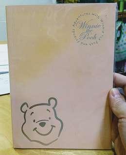 卡通/文具類: Winnie the Pooh 小熊維尼筆記簿