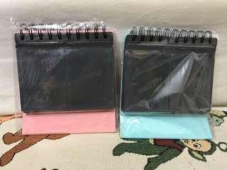 粉紅/ 粉藍即影即有座枱相冊一本(可放68張)