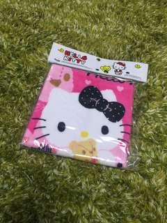 (全新new) Hello Kitty 方巾抺手巾 Hand towel
