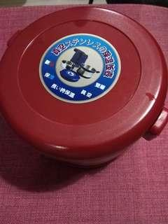 Stainless steel vacuum food jar with bag